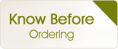 Known Before Ordering