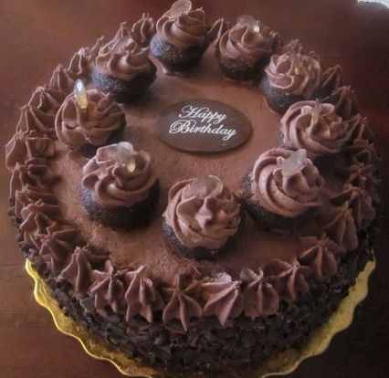 Cakes (Chocolate Martini Cake Pictured)