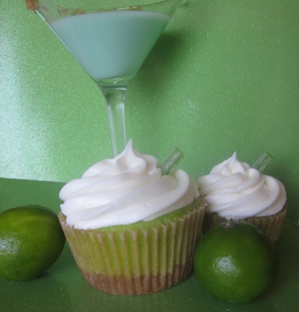 Keylime Pie Martini Cupcakes