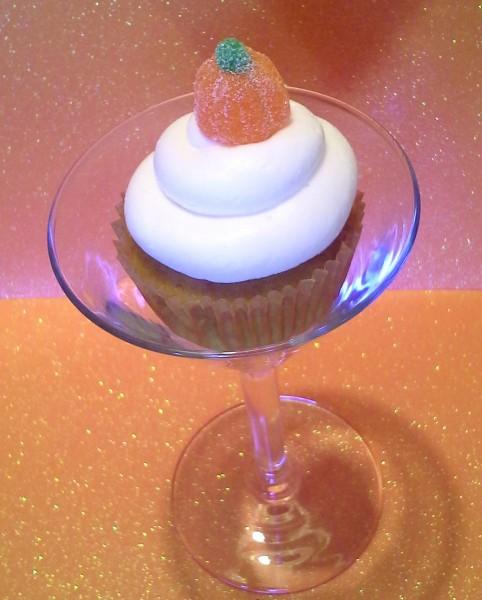 Pumpkin Martini Cupcakes