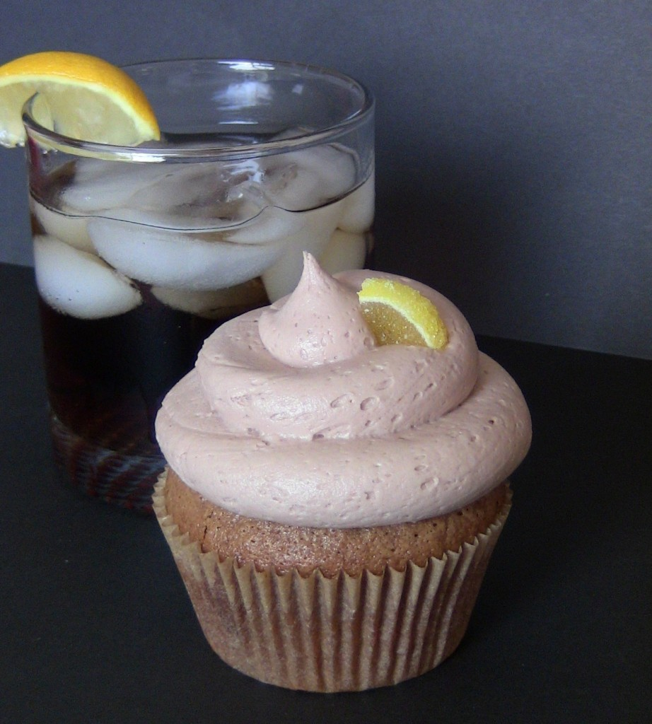 Whiskey and Coke Cupcakes