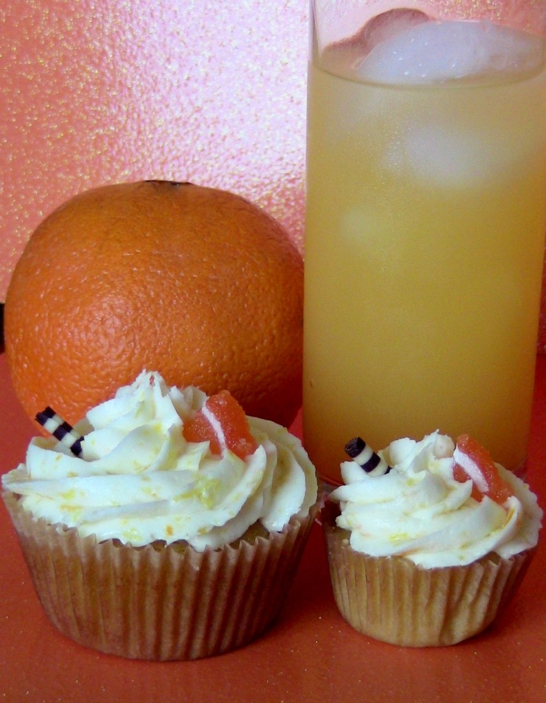Screwdriver Cupcakes