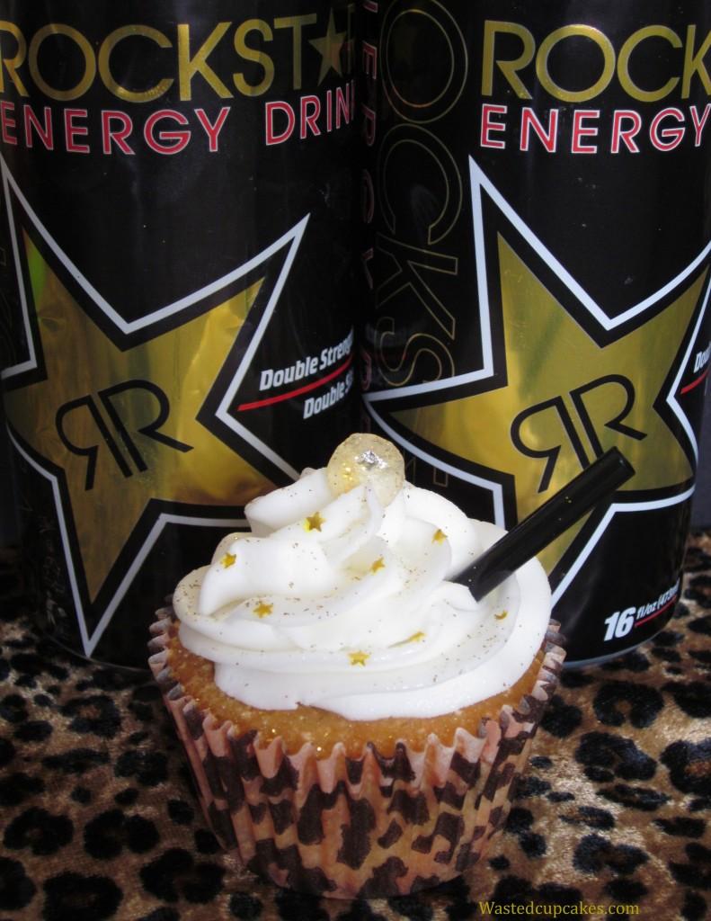 RockStar Vodka Cupcakes