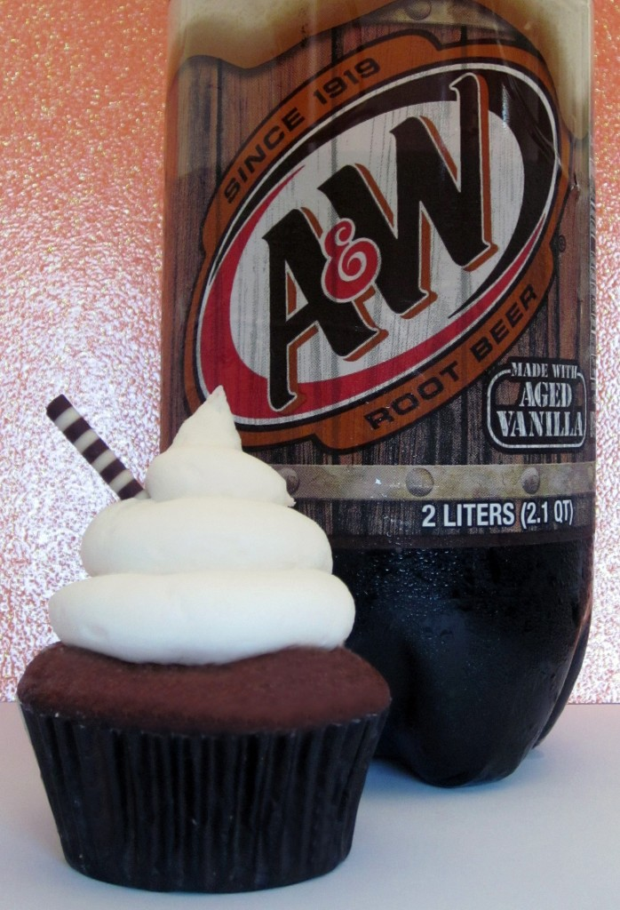 Non Alcoholic Rootbeer Float Cupcakes