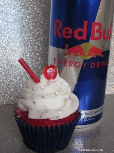 Vodka Red Bull Cupcakes