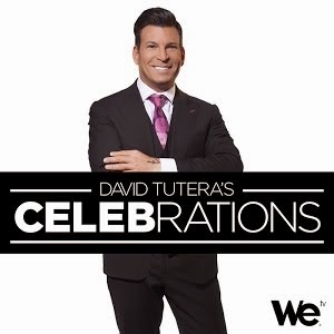 Watch us on David Tutera's CELEB-rations on WE tv